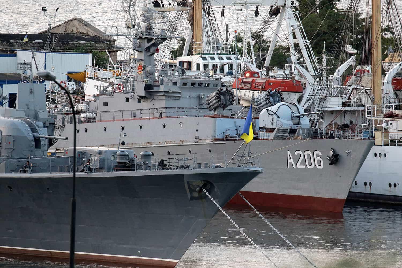 Корвет «Вінниця» на базі в Одесі