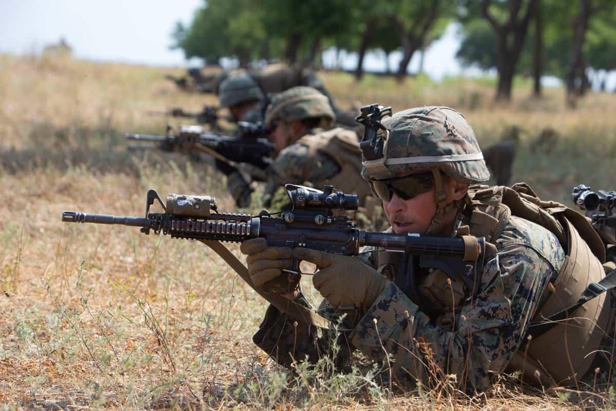 Морські піхотинці США під час навчань Sea Breeze