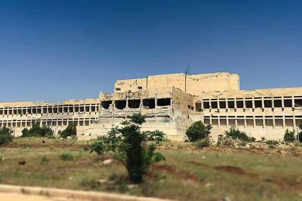 Національний шпиталь у Азаз після ракетного удару