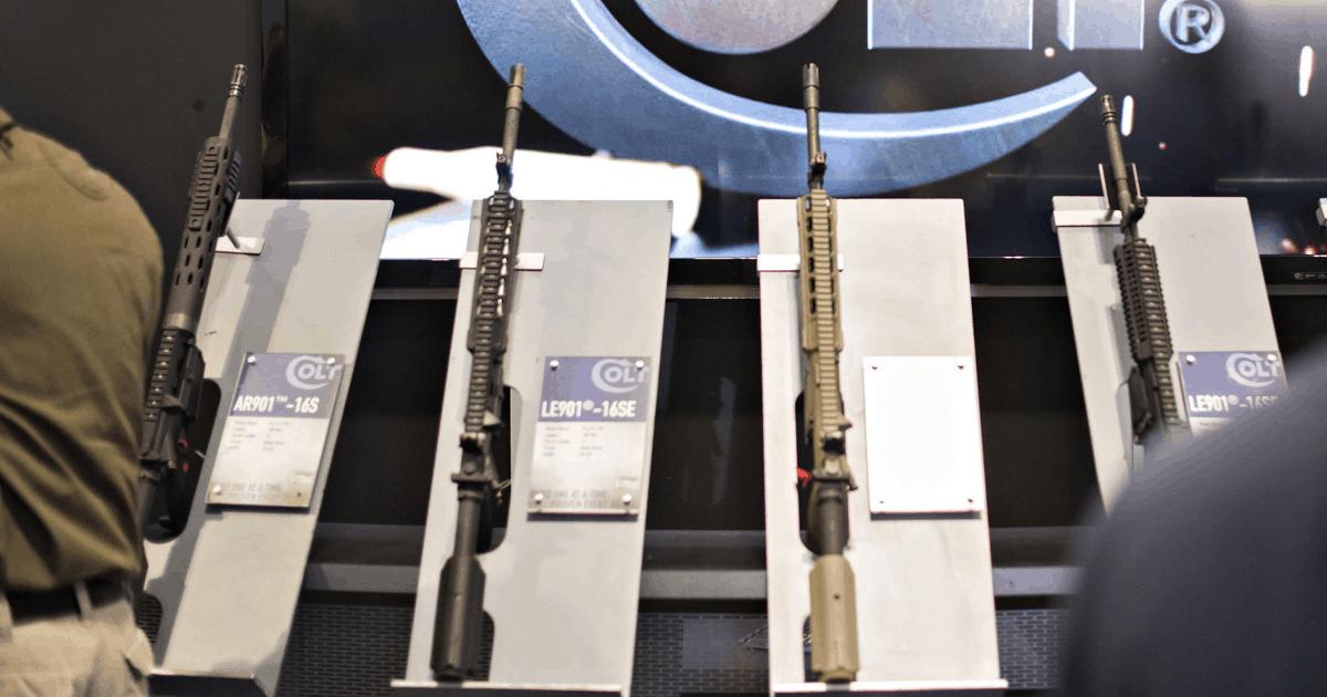 Презентація зброї фірми «Colt». Фото з відкритих джерел