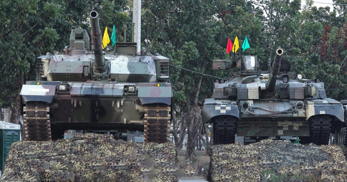 Танк VT4 та БМ «Оплот» Збройних сил Таїланду. Фото з відкритих джерел