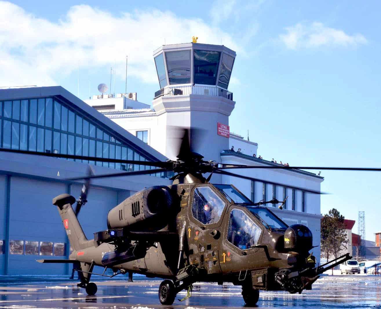 Перший модернізований ударний гелікоптер Atak Faz-2 для поліції Туреччини