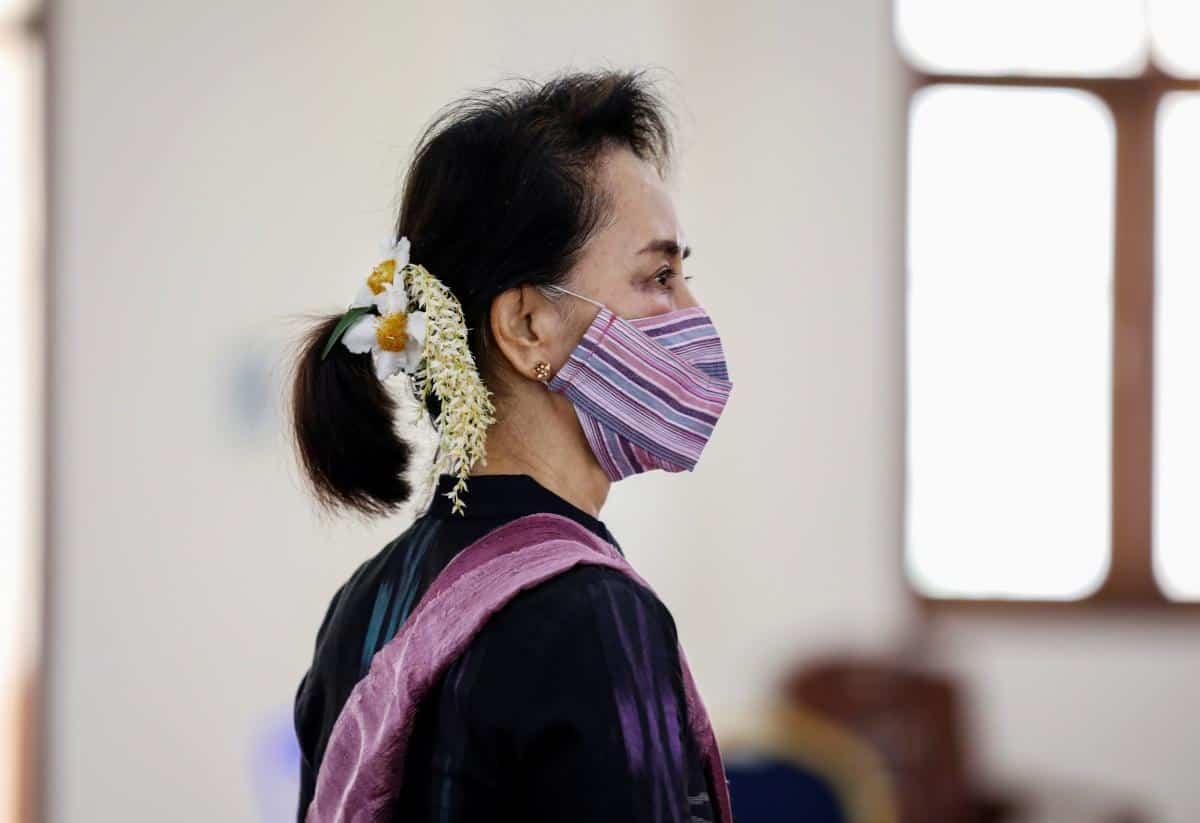 Державний радник М'янми Аун Сан Су Чжі