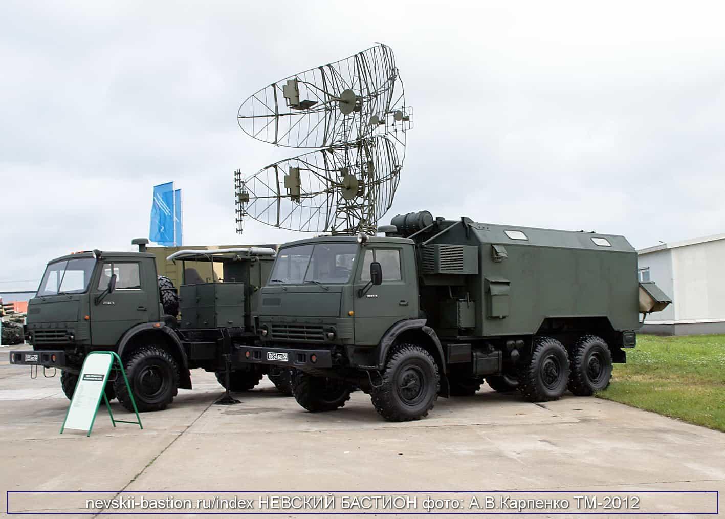 Російська РЛС «Каста-2Е1»