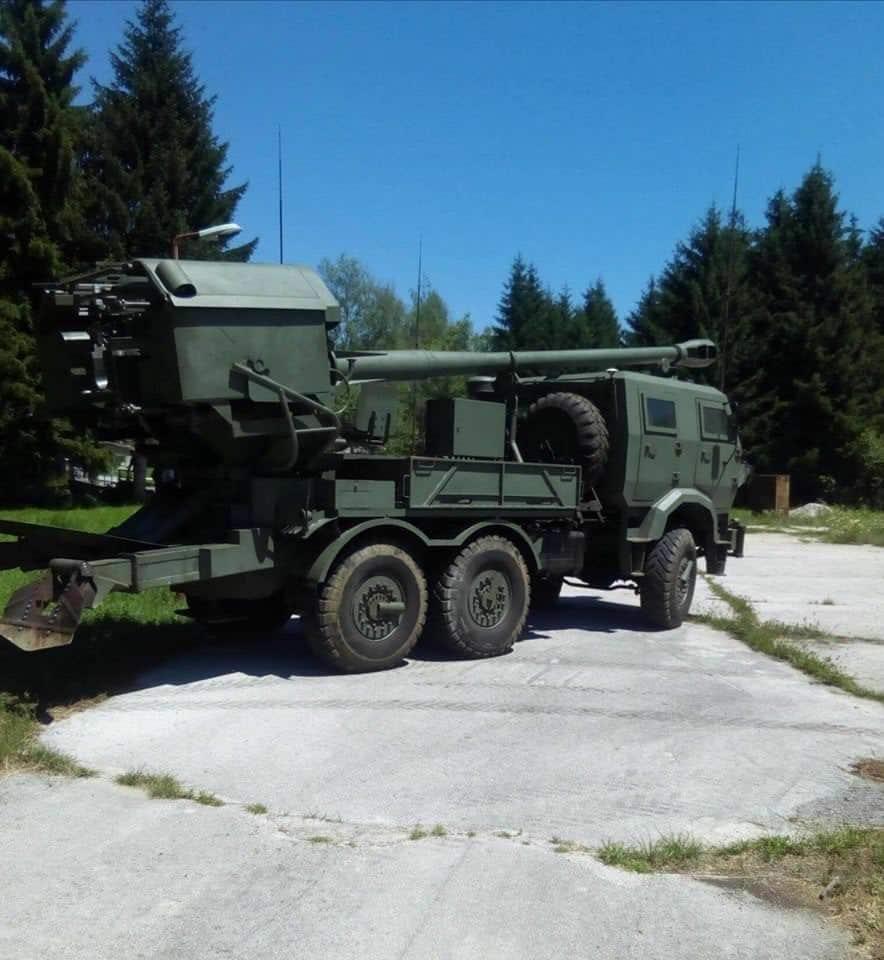САУ H-155 з Боснії та Герцоговини