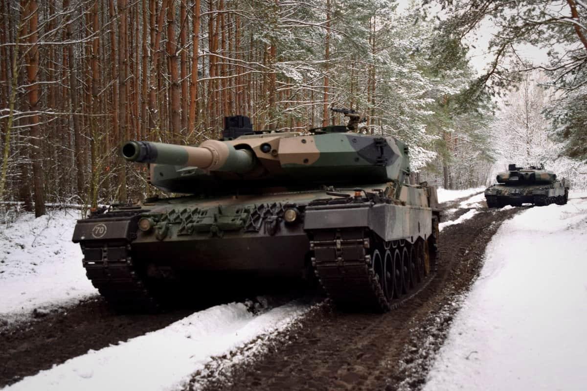 Танки Leopard 2 ЗС Польщі