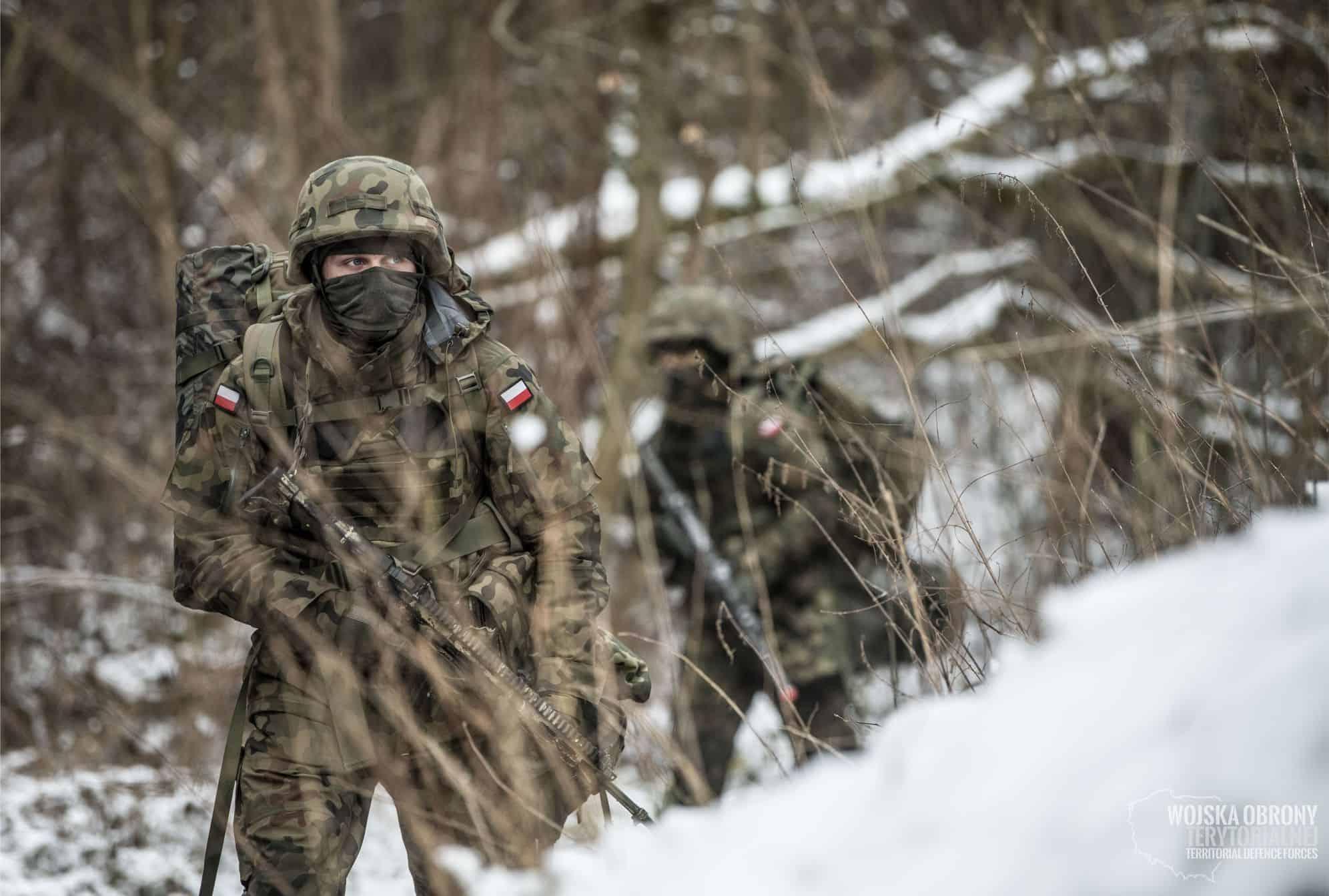 Тренування військ територіальної оборони Польщі