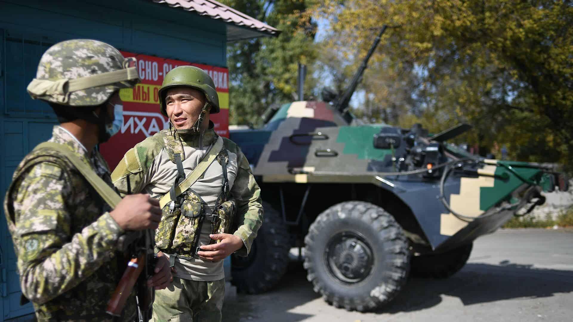 Військовослужбовці ЗС Киргизстану