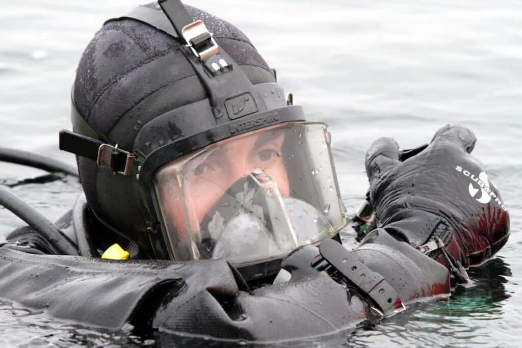 Військовий водолаз ВМС Естонії