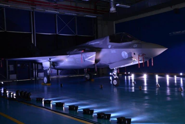 F-35B побудований в Італії, 2018