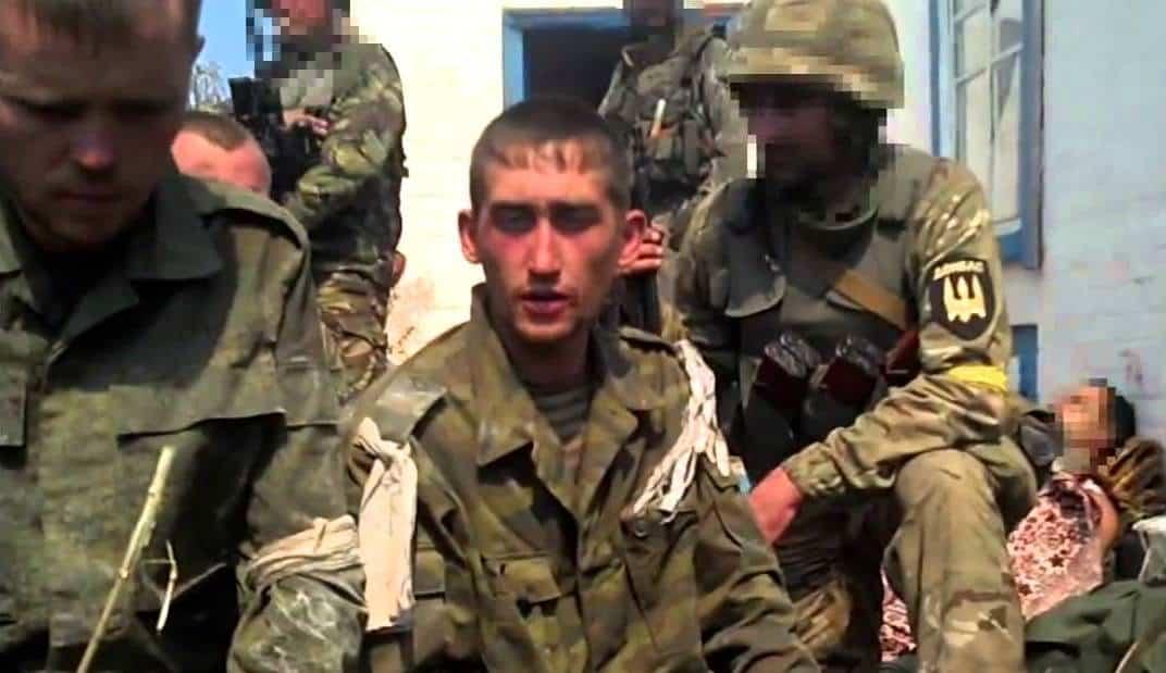 Полонені військові Збройних сил Росії на Донбасі. Серпень 2014 рік