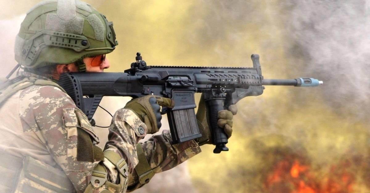 Гвинтівка MPT-76 виробництва турецької компанії MKEK