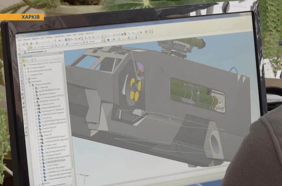 Збірна модель протитанкового ракетного комплексу на базі «Дозор-Б»