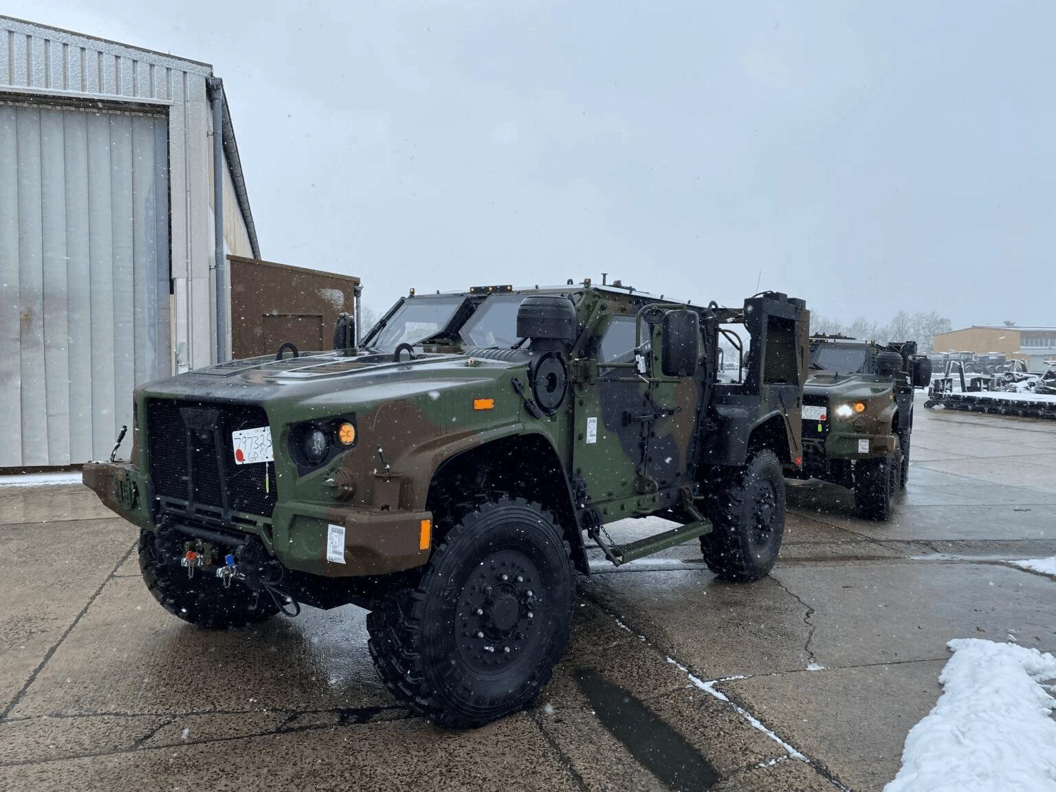 Машини JLTV 2-го кавалерійського полку армії США