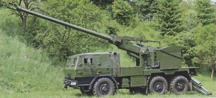 155-мм САУ «Єва»