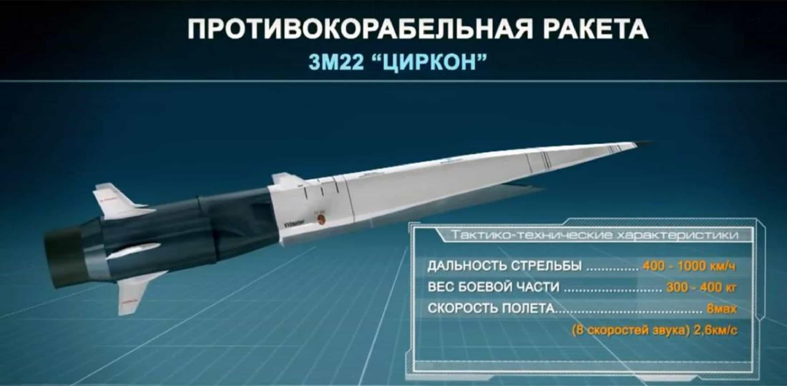 Протикорабельна ракета «Циркон»