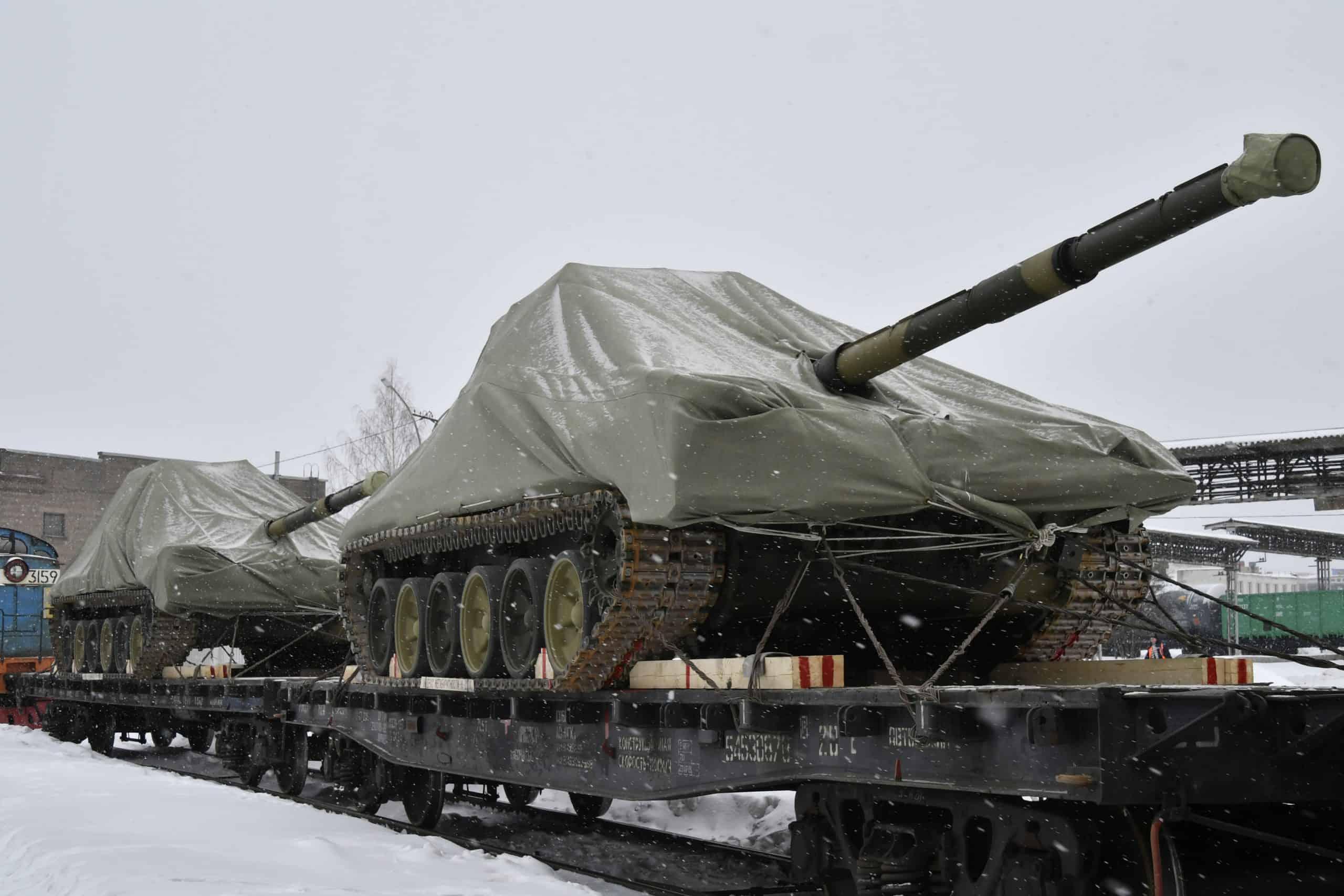 """Танк Т-90М """"Прорив"""", фото Уралвагонзавод, березень 2021"""