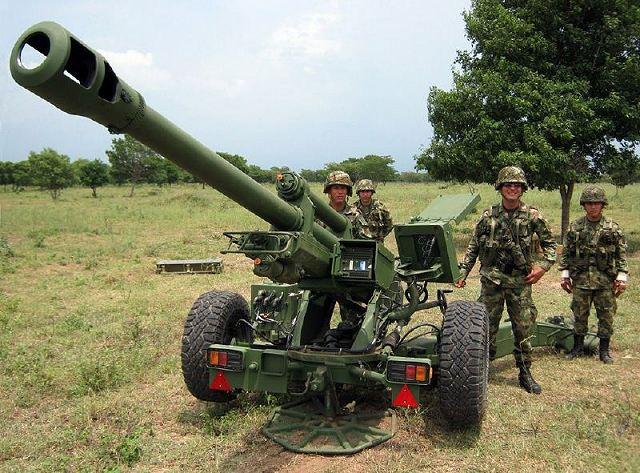 LG1 Mk III армії Колумбії