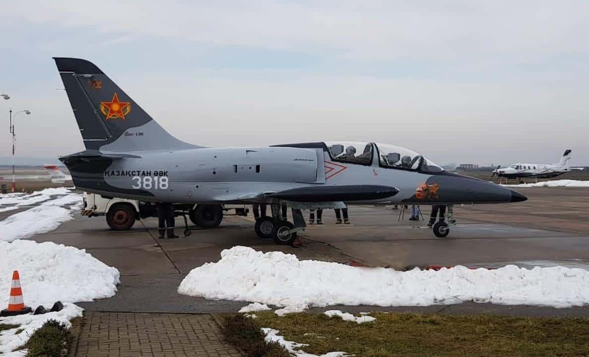 L-39 Повітряних сил Кахастану, фото - МО Кахастану