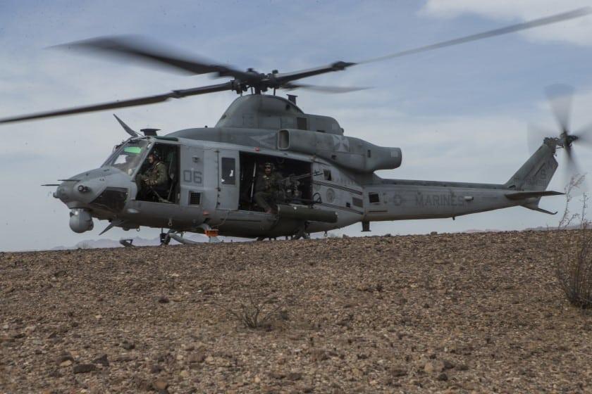 Гелікоптер UH-1 Iroquois на озброєнні Корпусу морської піхоти США