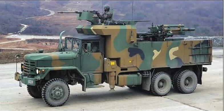Колісна 105-мм САУ К105А1 з Південної Кореї