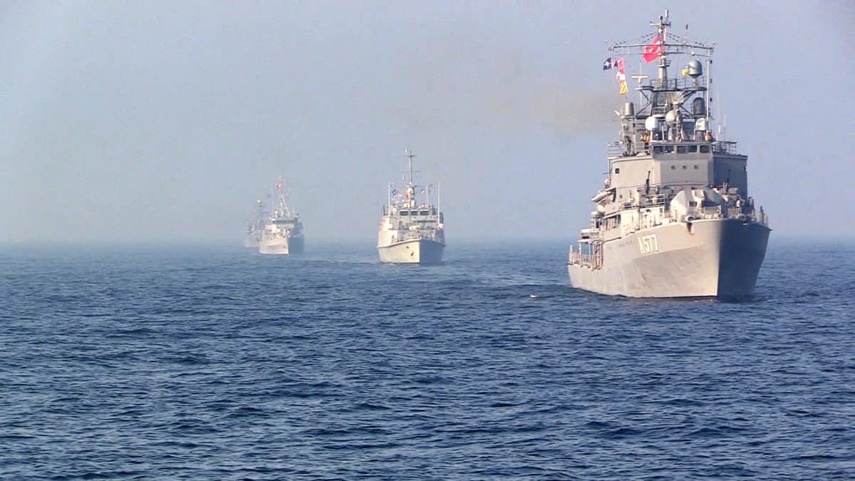 Кораблі Постійної морської протимінної групи НАТО № 2