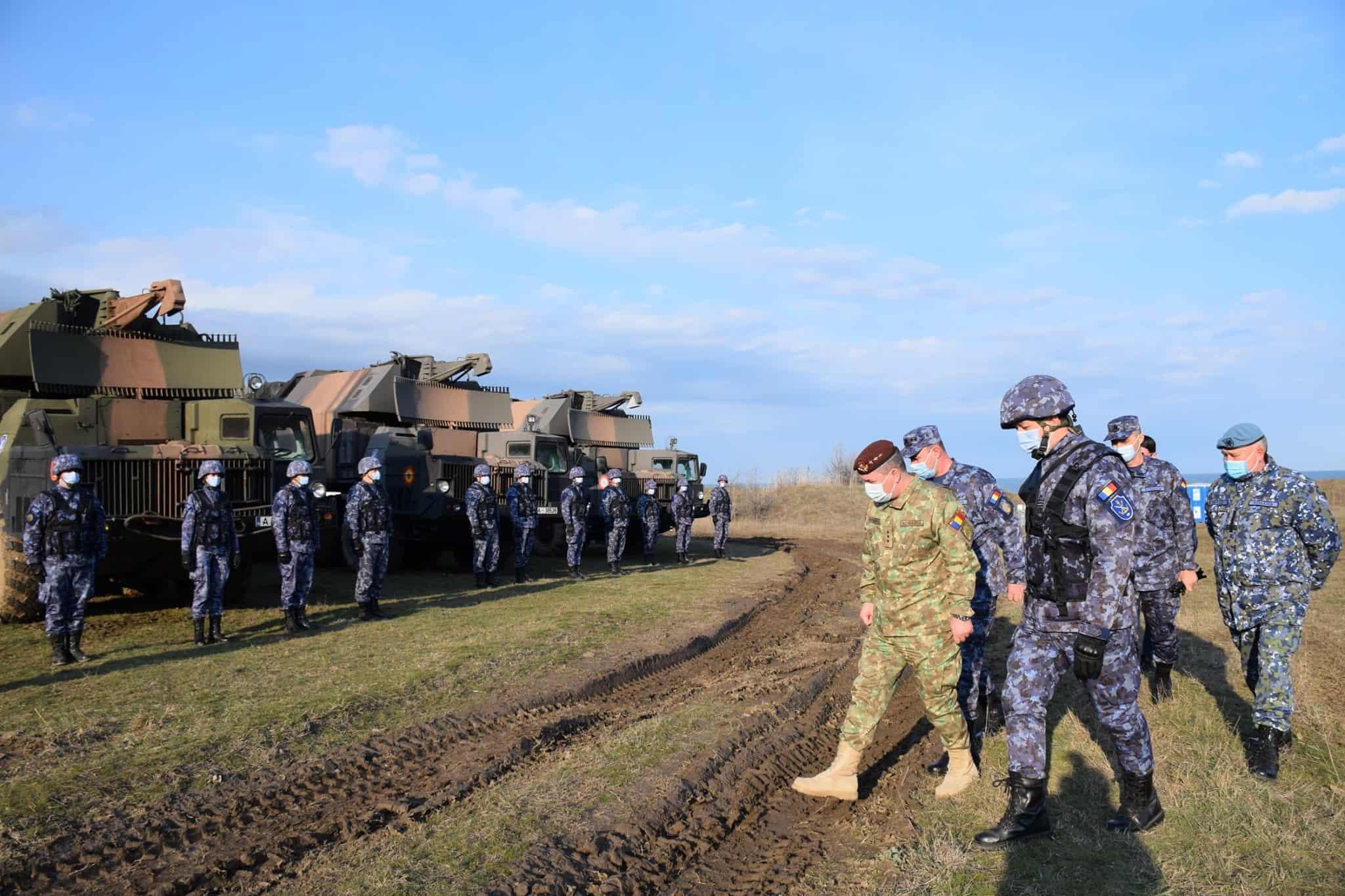 Машини протикорабельного ракетного комплексу 4K51 «Рубіж» ВМС Румунії на навчаннях «Морський щит 21»