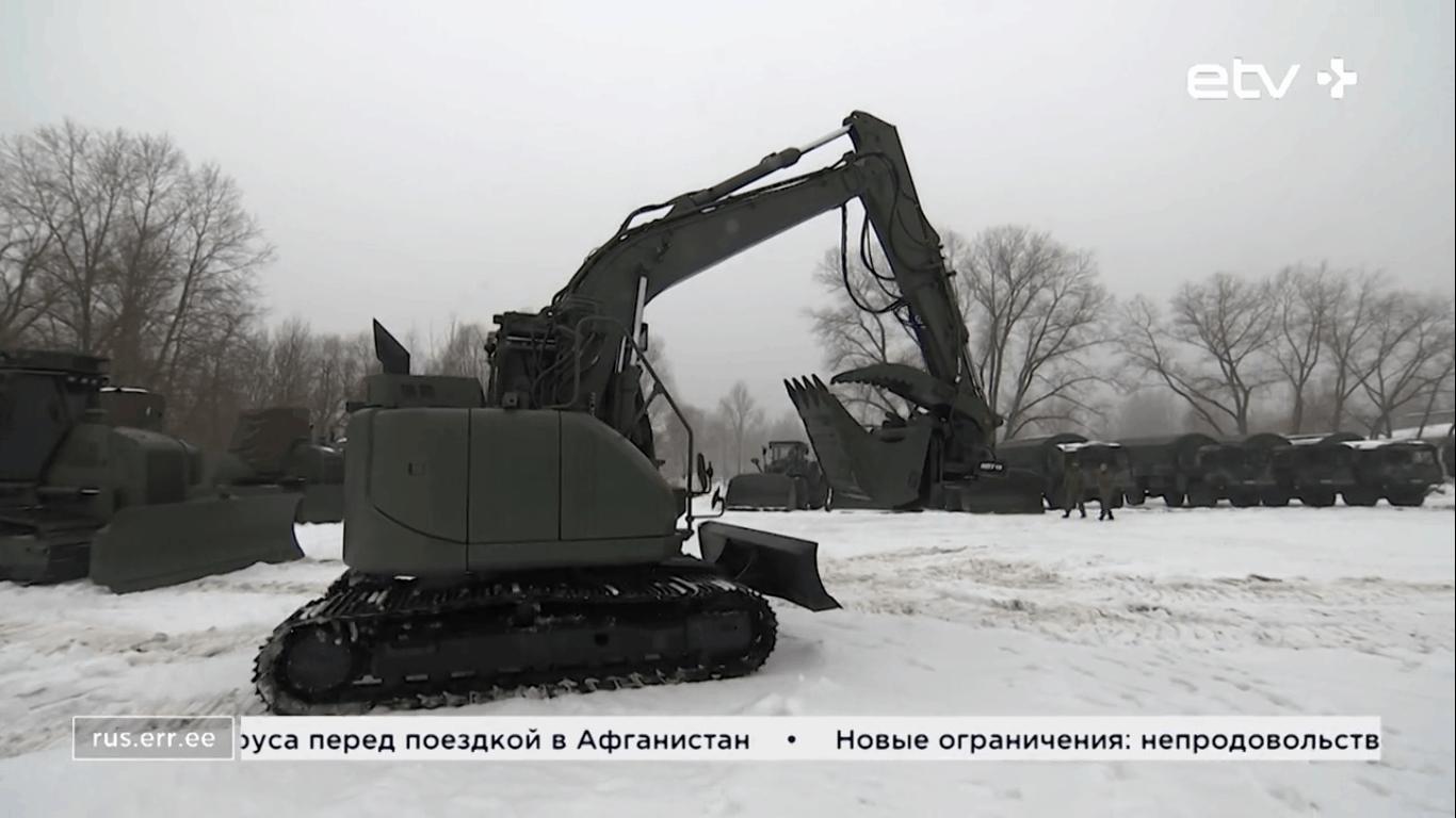 Нова інженерна техніка 2-ї піхотної бригади Сил оборони Естонії