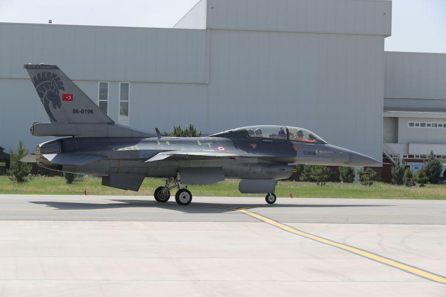Перший турецький винищувач F-16 з продовженим до 12 тисяч годин ресурсом