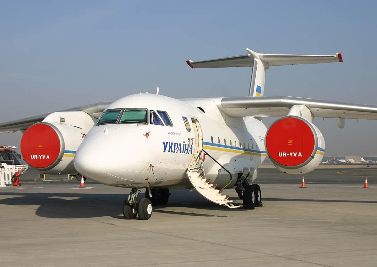 Президентський борт Ан-74ТК-300
