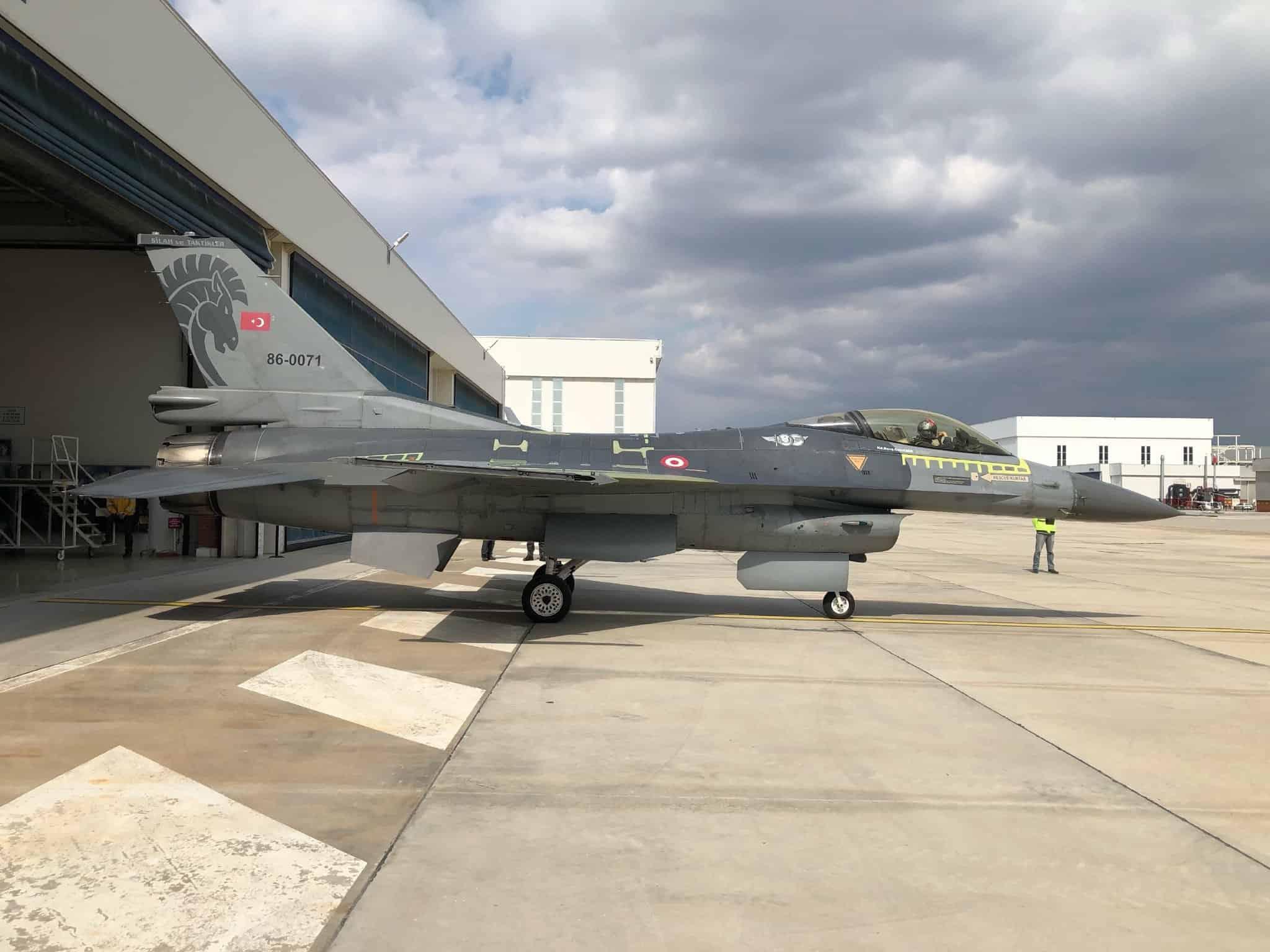 П'ятий турецький винищувач F-16 з продовженим до 12 тисяч годин ресурсом