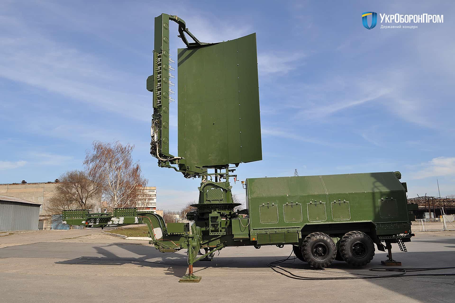 РЛС 35Д6М виробництва КП «НВК «Іскра»