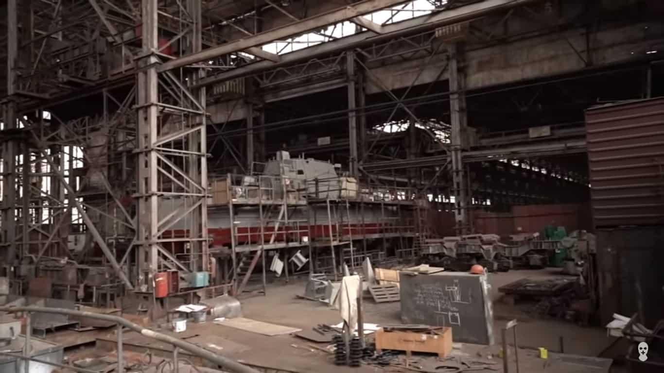 Стан будівництва восьмого корпусу малого артилерійського катеру проєкту 58155 для ВМС ЗС України
