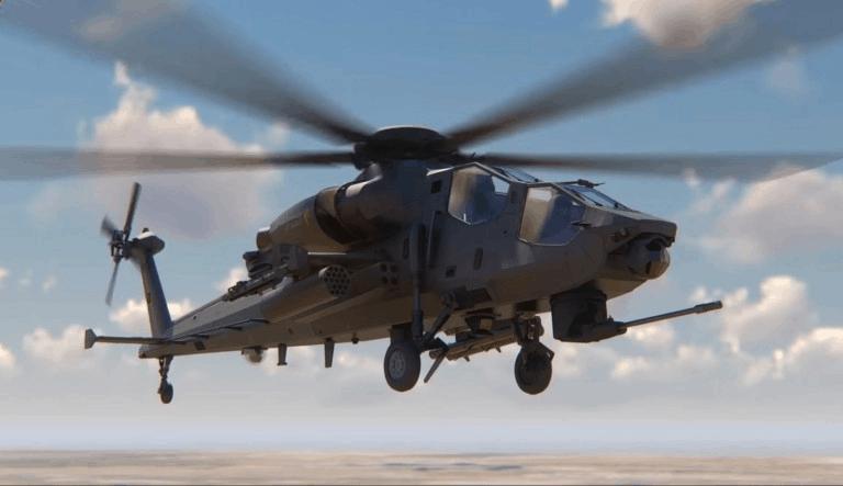 Візуалізація ударного гелікоптеру ATAK II
