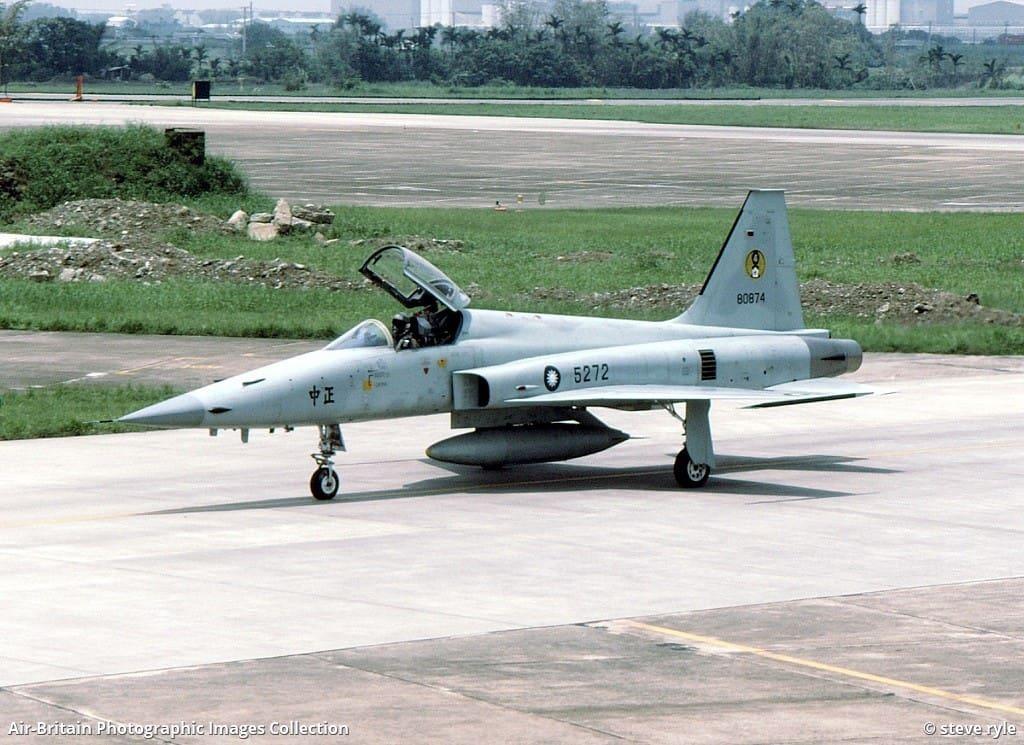 Винищувач F-5E Повітряних сил Республіки Китай (Тайвань)
