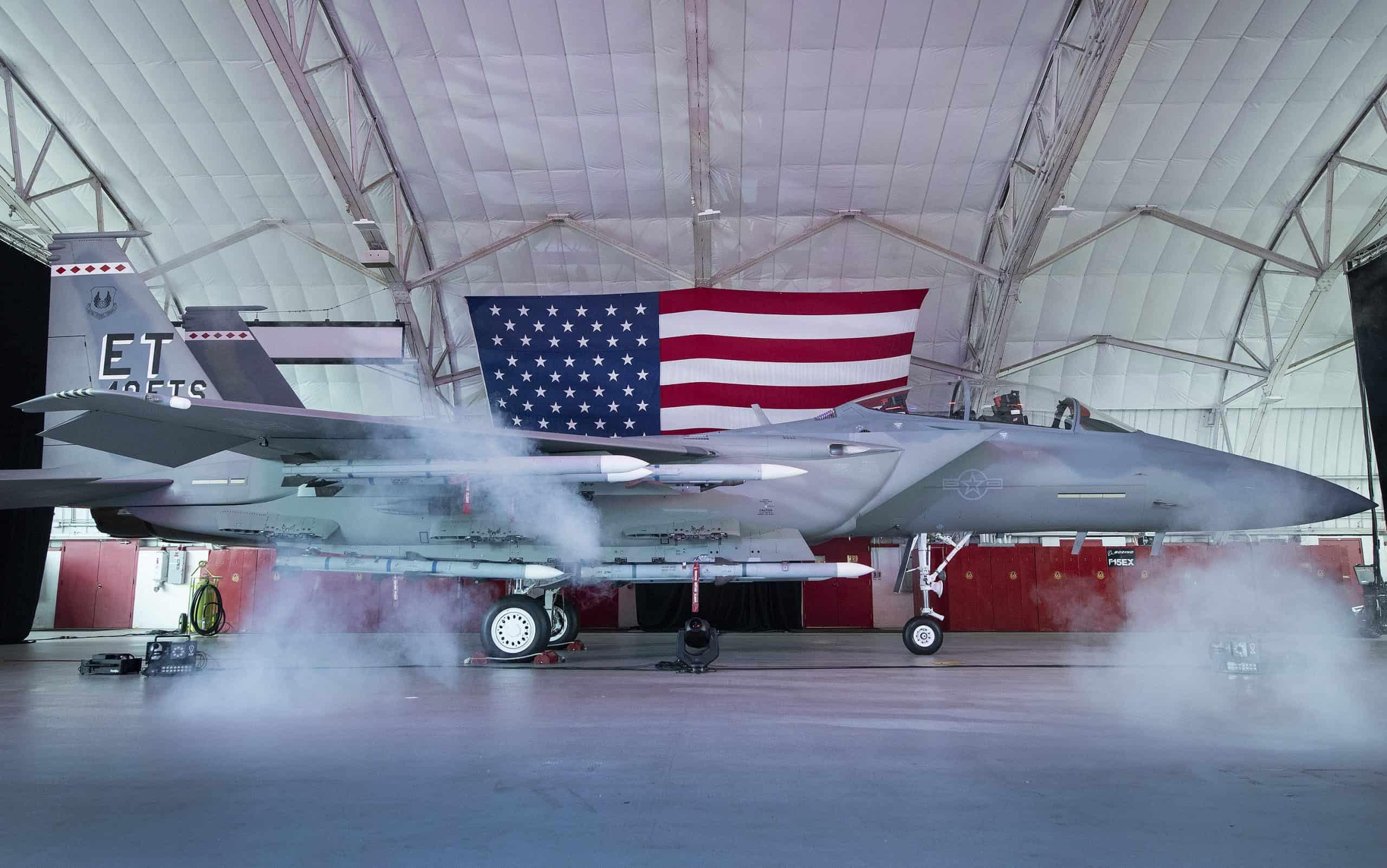 Церемонія іменування винищувача F-15EX Eagle II