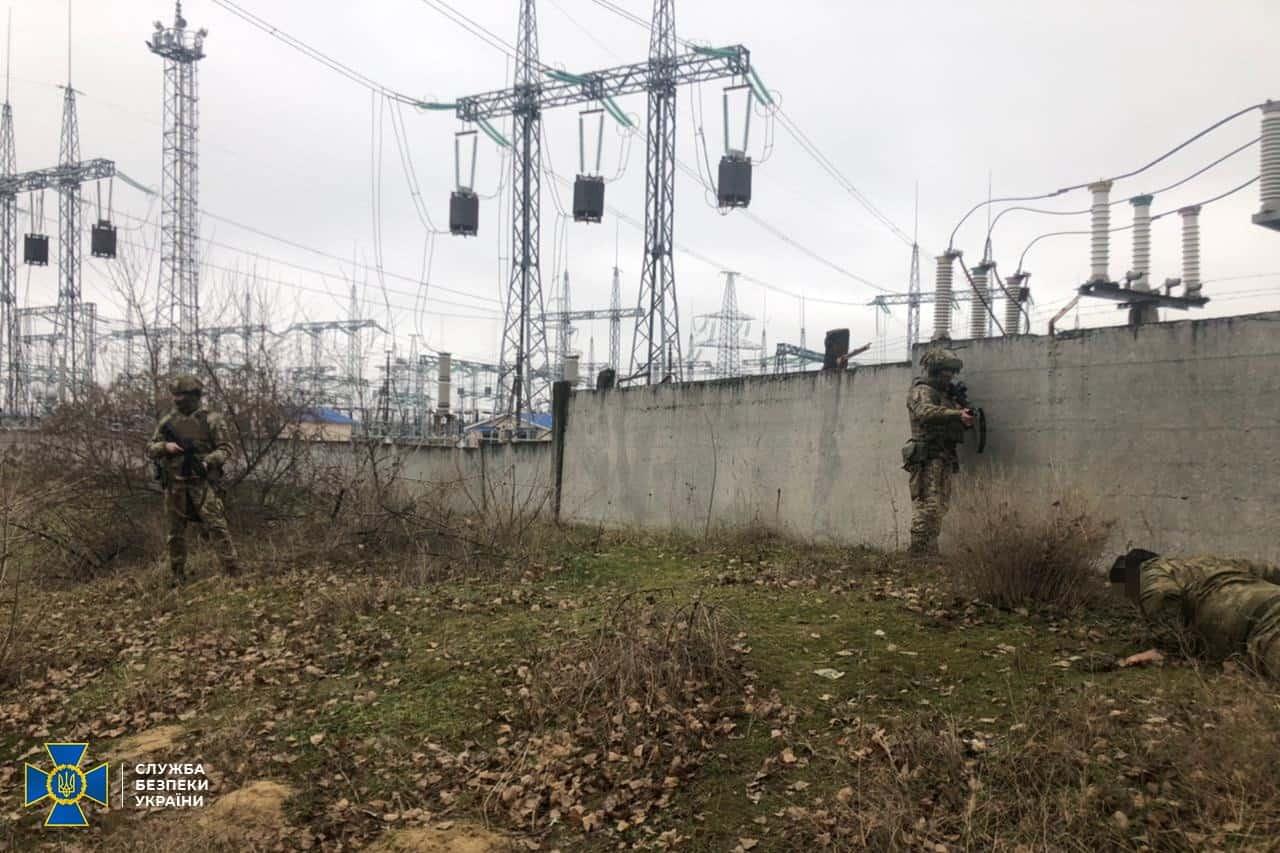 Антитерористичні навчання у Херсонській області