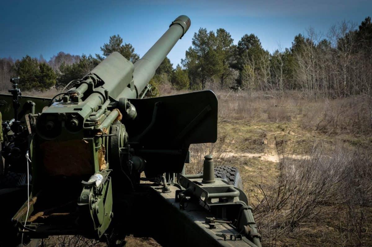 Артилерійська система 2А36 «Гіацинт-Б» 26 окремої артилерійської бригади