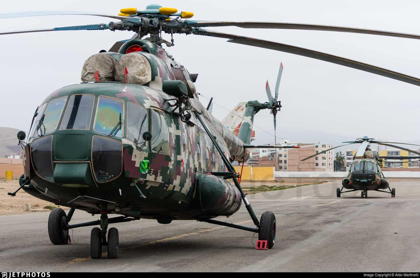 Багатоцільовий військово-транспортний гелікоптер Мі-17 ЗС Перу