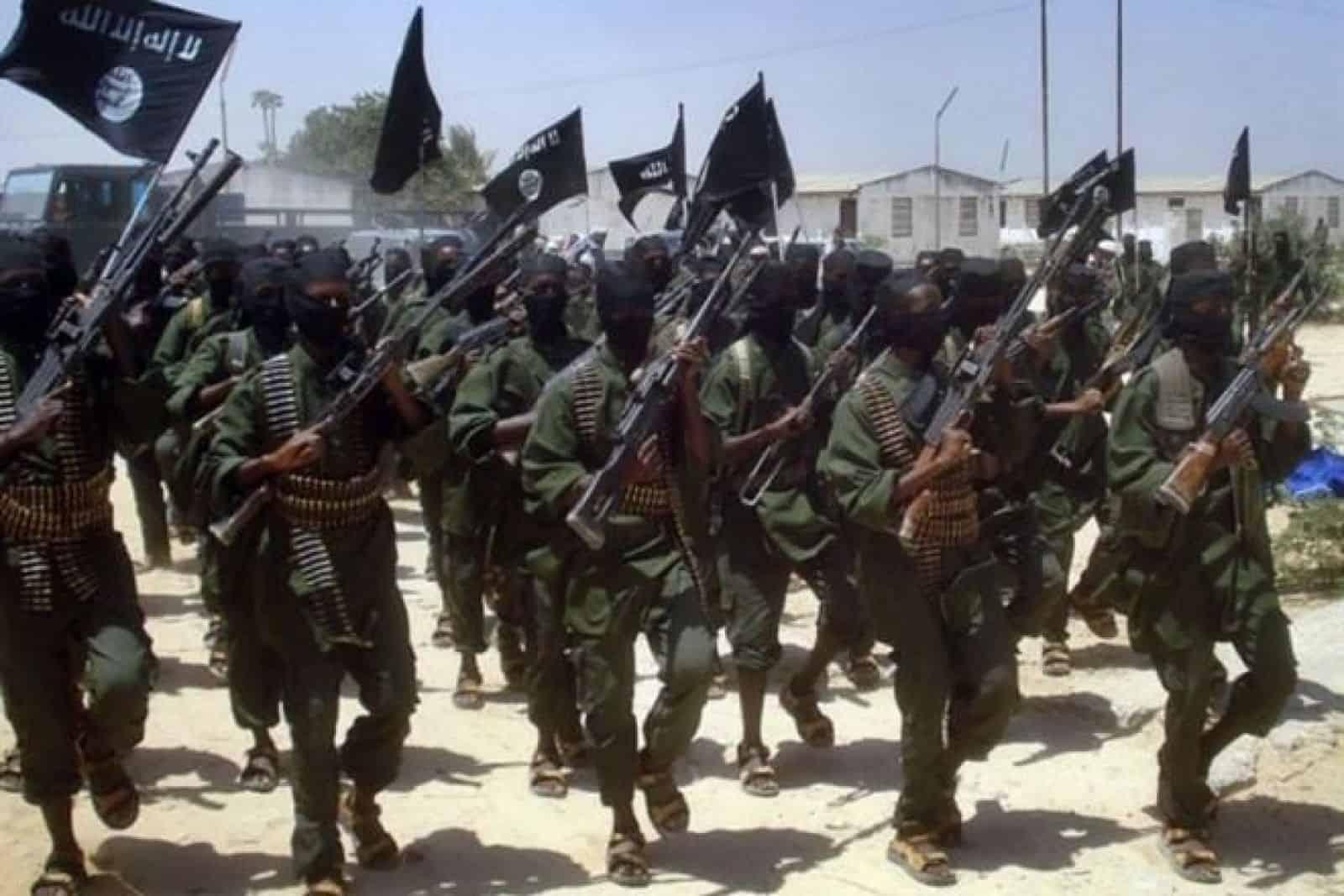 Бойовики Аш-Шабааб у Сомалі у Сомалі