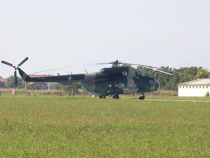 Хорватський багатоцільовий гелікоптер Мі-8