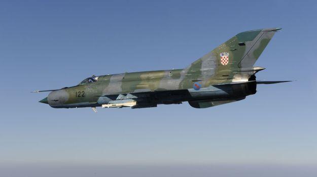 Хорватський винищувач МіГ-21