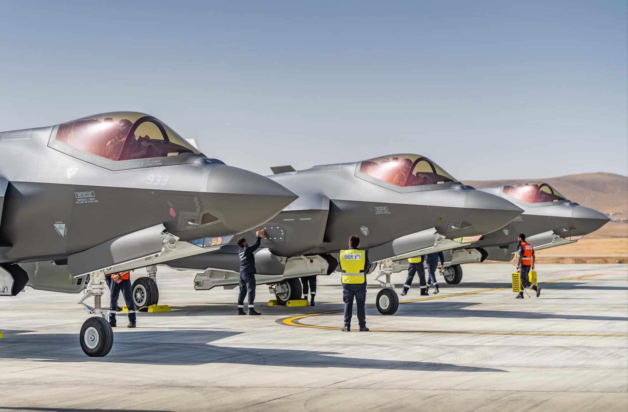Ізраїльські винищувачі F-35i Adir