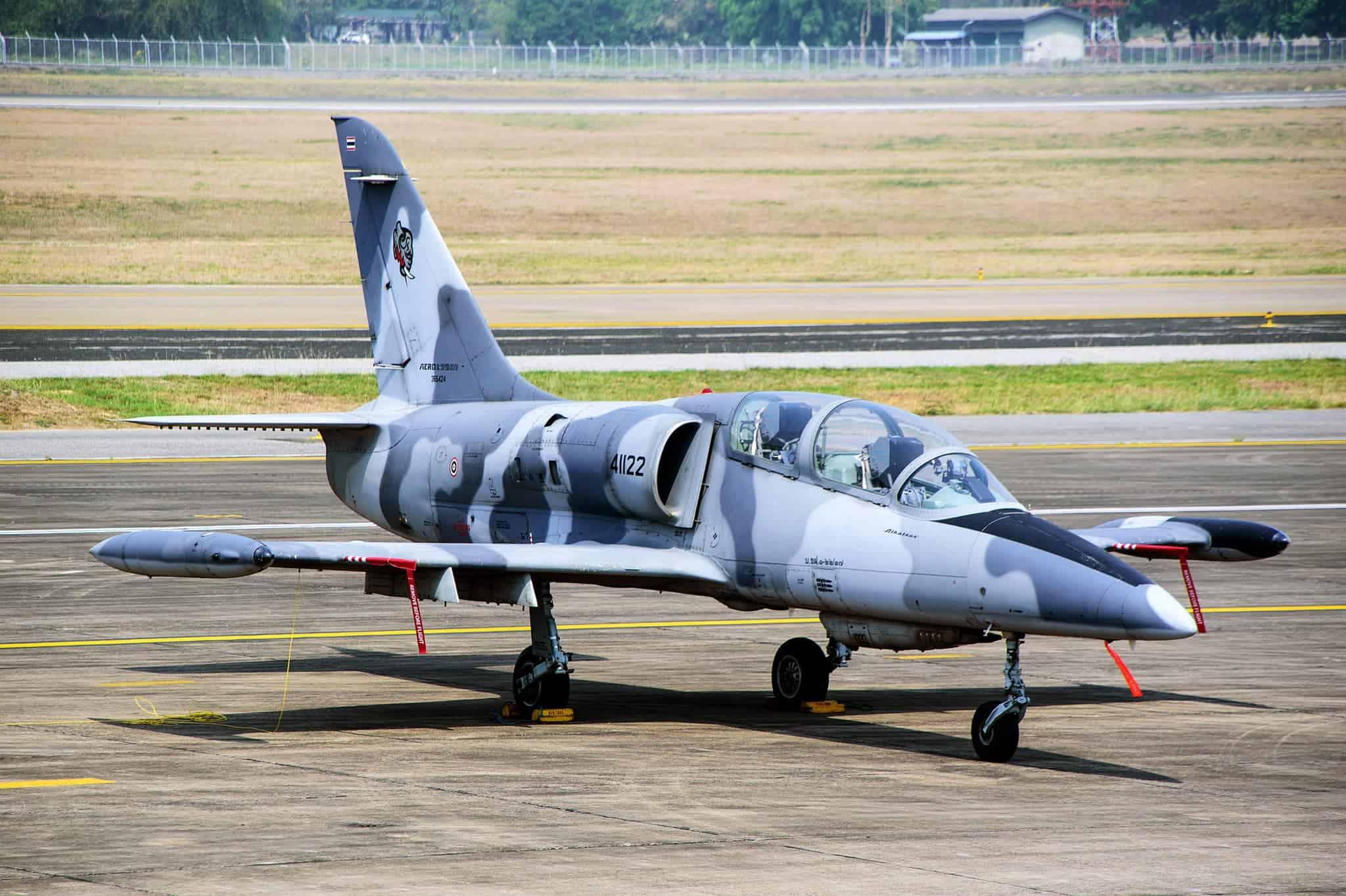 Легкий реактивний штурмовик L-39ZA Повітряних сил Таїланду