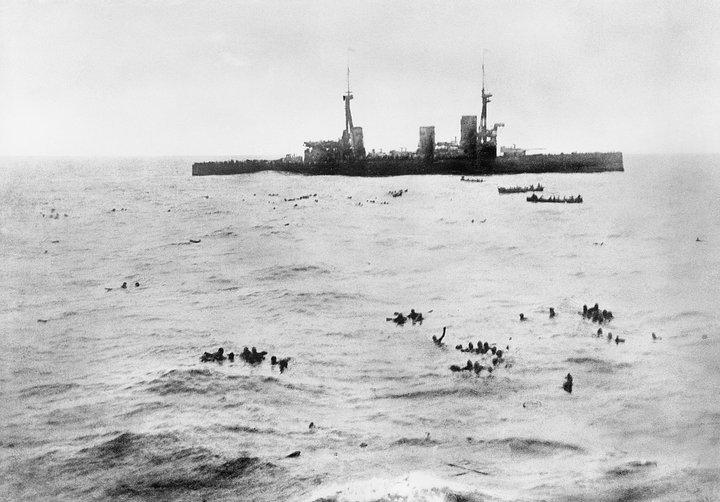 Німецькі моряки після бою