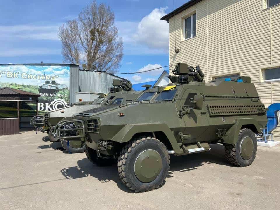 Партія бойових машин Oncilla перед передачею до ЗСУ