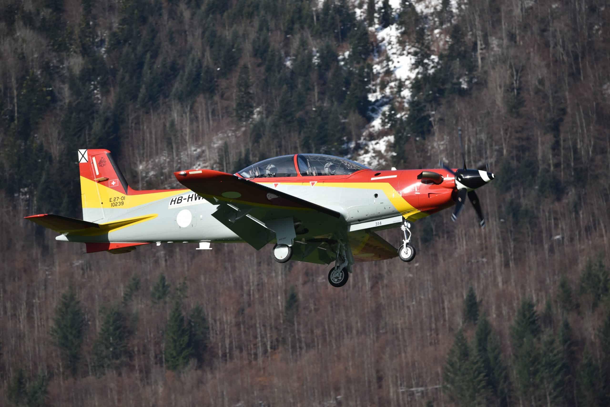 Перший політ літака PC-21 для Повітряних сил Іспанії