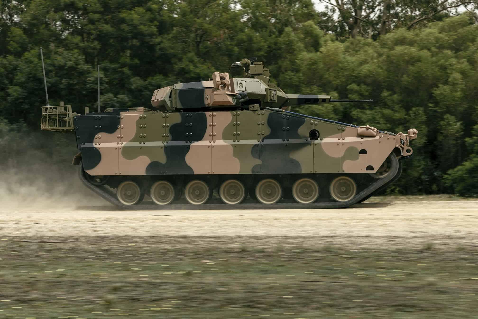Бойова машина піхота Redback IFV від Hanwha Defense