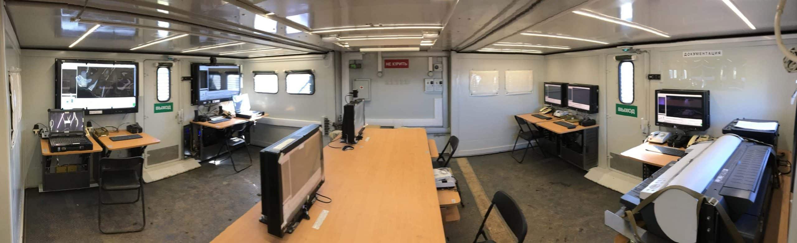 Робочий простір автоматизованої одиниці АПЕ-5