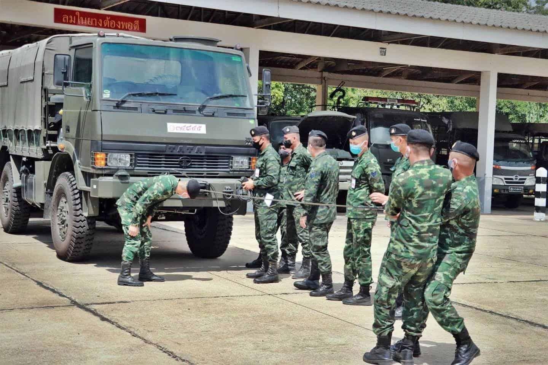 Випробування TATA LPTA 715 у армії Таїланду